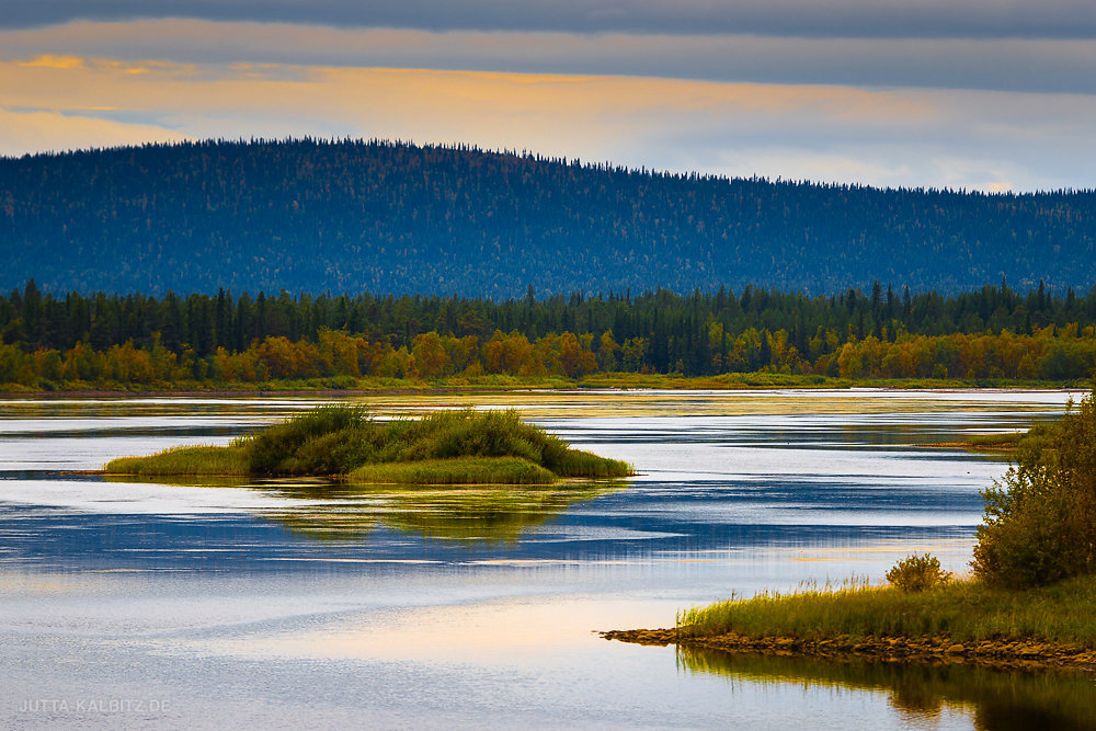 Herbstlandschaft bei Jokkmokk