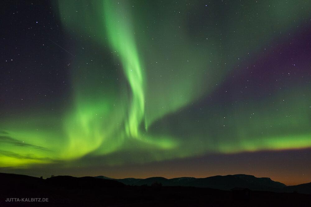 Polarlicht bei Abisko II