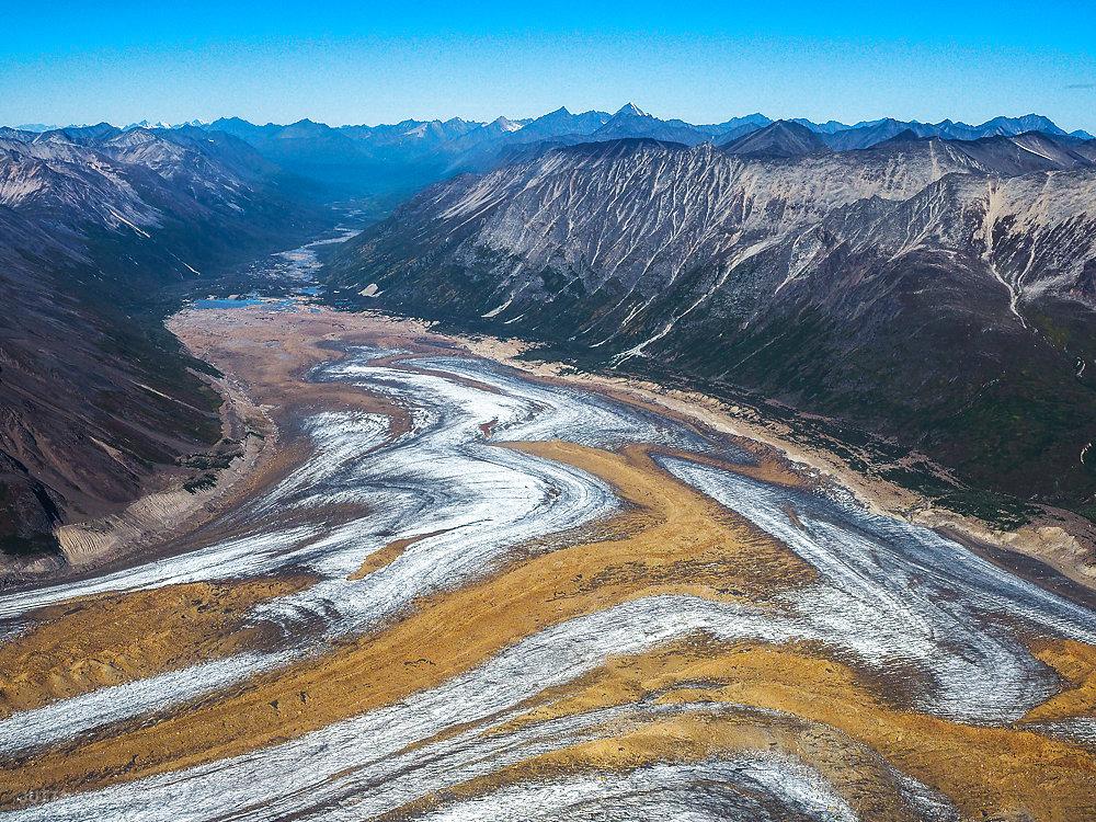 Wrangell - St. Elias Nationalpark (aerial)