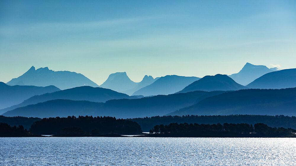 Blick auf das Trollheimen Gebirge