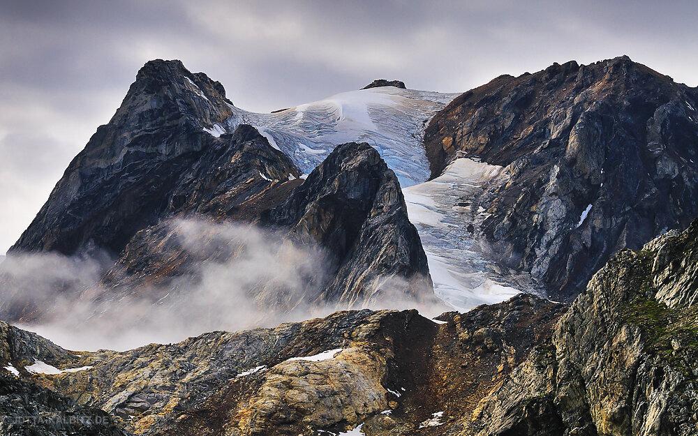 Schwindender Gletscher